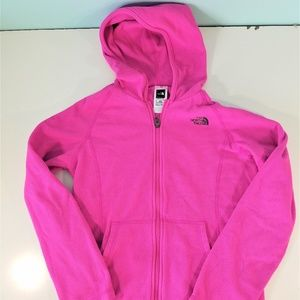 The North Face Pink Fleece Jacket H1346